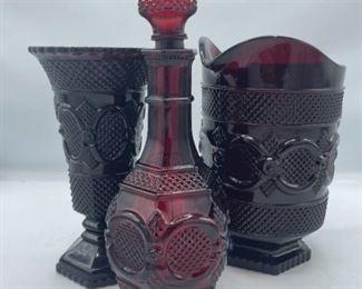 Avon 1876 Collection Glassware