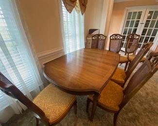 Vintage Dining Room Table Set