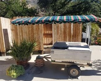 Golf Course Beverage Cart from Ojai