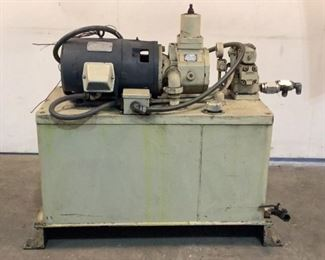 Located in: Chattanooga, TN MFG Racine Hydraulic Pump 50 Gallon *Sold As Is Where Is* Unable to Test