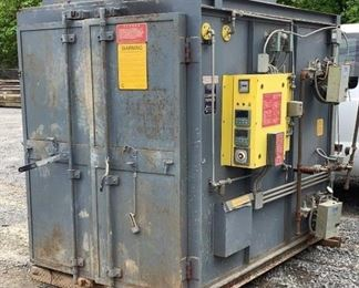 """Located in: Chattanooga, TN MFG Controlled Pyrolysis Model PTR88 4419 Cleaning Furnace Size (WDH) 69-1/4""""Wx83-1/2?""""Dx74""""H Natural Gas 390000BTU *Sold As Is Where Is* Unable to Test"""