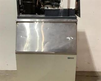 """7 Image(s) Located in: Chattanooga, TN MFG Scotsman Model C0330SA-1A Ser# 09101320010126 Power (V-A-W-P) 115V, 60Hz, 10.4A, Single Phase Ice Machine With Storage Size (WDH) 30""""W x 31 3/4""""D x 73""""H **Sold as is Where is**  SKU: A-3 Unable to Test"""