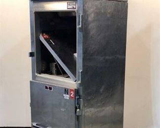 """8 Image(s) Located in: Chattanooga, TN MFG Victory Model RFS-ID-S7-HD Ser# 119717643 Power (V-A-W-P) 115 Volts, 1 Phase, 60 Hz Refrigerator Size (WDH) 26-5/8""""W x 35""""D x 7'H **Door Hinges are Broken** **Sold as is Where is**  SKU: A-4 Unable to Test"""