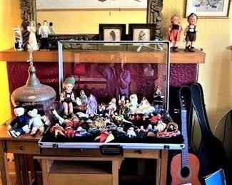Craftsman Desk and Dolls
