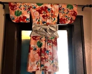 Childs Kimono