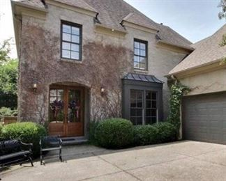 Large home filled with eclectic style.