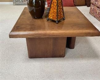 SOLID WOOD COFFEE TABLE-CLEAN LINES