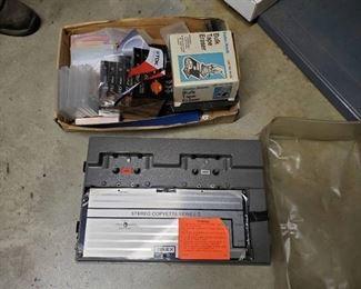 Cassette Duplicator, Blank Casette Tapes