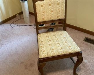 . . . a nice accent chair with Queen Anne legs