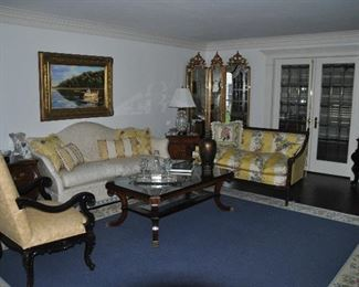 Wonderful traditional living room filled with top quality furnishings.