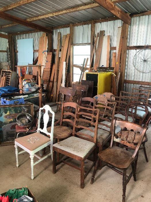 Chairs shown $10 each