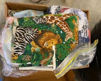 Assorted Quality Fabric Scraps