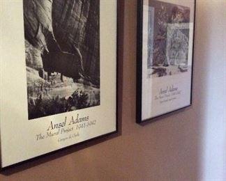 Ansel Adams framed prints