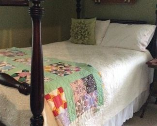 SOLD Full/double bed sold part of set