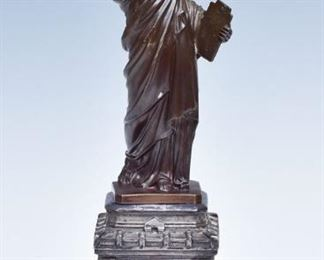 American Committee model of statue of liberty