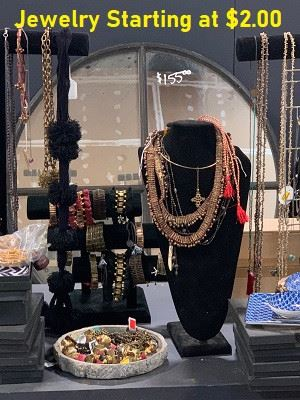 40 Styles of Earrings, Necklaces, Bracelets and Rings