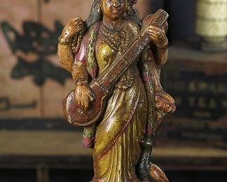 Vintage Hindu Terra Cotta Deities and Statues from India