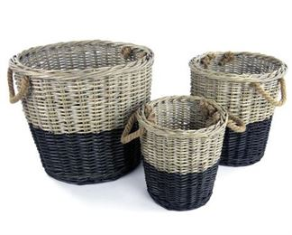 Baskets in Sets or Individual, Several Styles