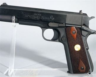 Colt Government Model .45 ACP Pistol SN# 2868248, 2 Total Mags, With Paperwork, Sticky Slide, In Box