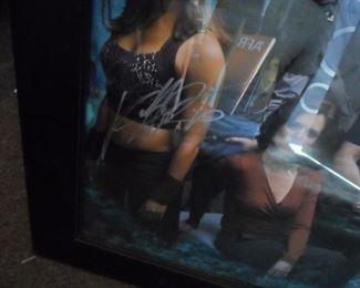 Signed Stargate Atlantis poster