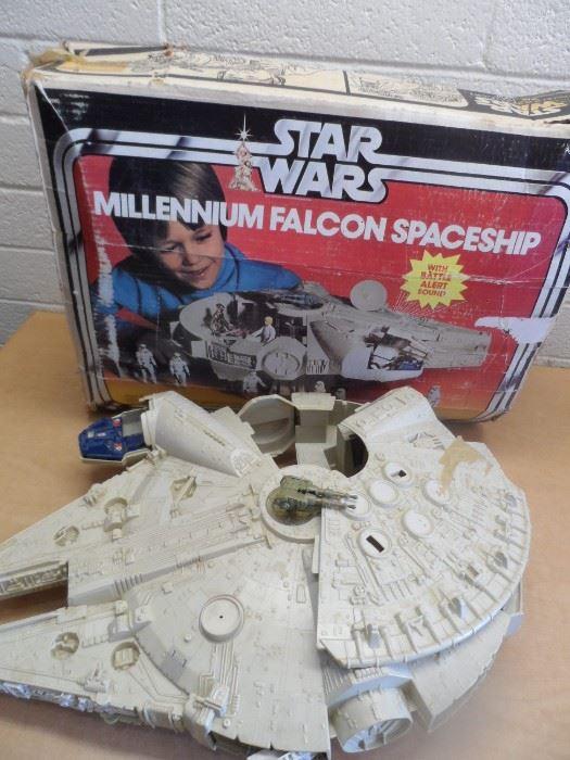 Collectible Star Wars Millennium Falcon Spaceship