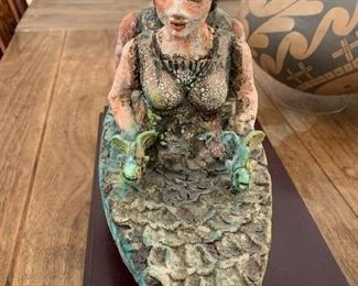 Ceramic sculpture by Cheryl Tall