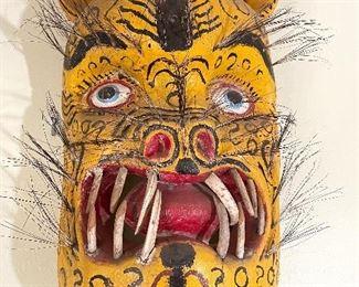 Unique & rare tribal masks...