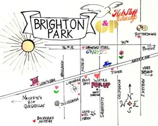 Looking to make a day in Brighton Park?  We have a map of local establishments to help make this a great day.