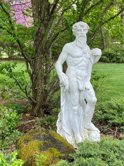 Neptune Garden/Pool  Sculpture  (trident not shown)