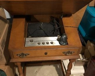 Voice of Music record player desk