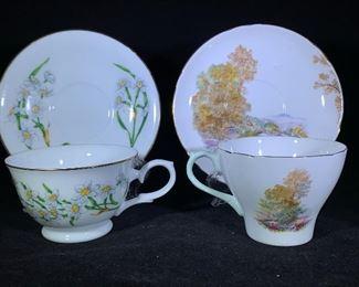 Collector tea cups