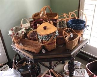 Longaberger and other baskets