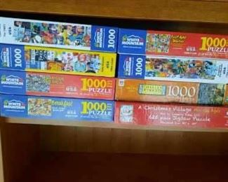 Puzzles.....adult and children's puzzles
