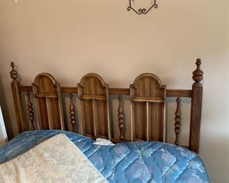 #6queen headboard only with 3 arch design and 2 post  $75.00