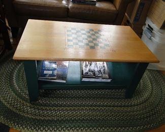 Checker, Chess Coffee Table