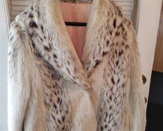 Ladies size 16, not real fur coat