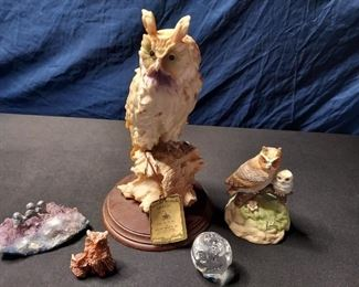 Owl Figurines for Collectors