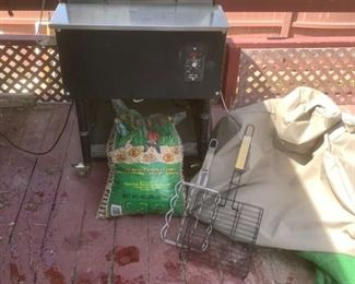 Traeger Grill with Accessories