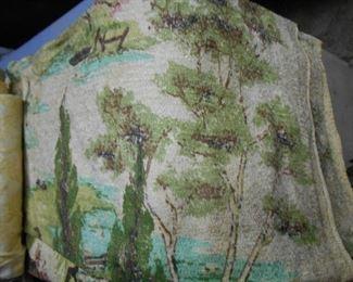 Bar cloth drapes