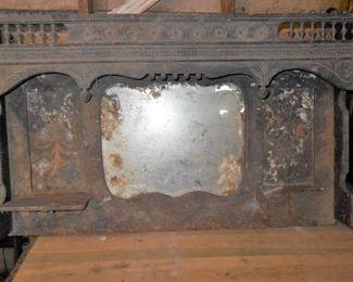 Antique mantle top