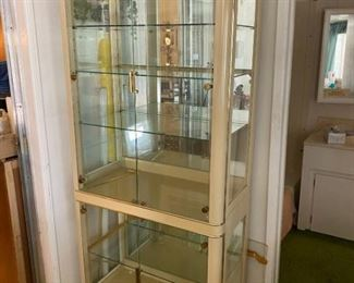 Art Deco lighted China Cabinet