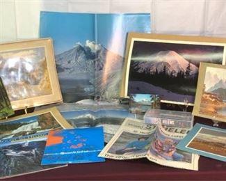 Americas West Mt. St. Helens, Rockies, Poster, Bear