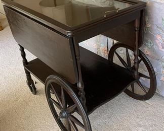 Tea Cart w Removable Tray