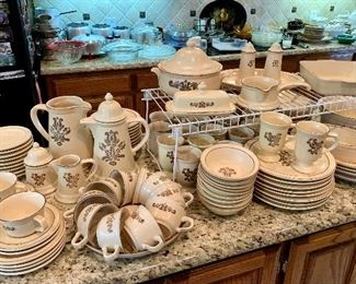 "Pfaltzgraff ""Village"" Dinnerware & Coffee Sets"