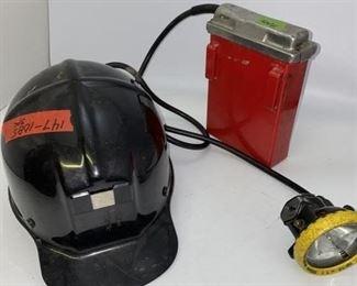 Antique Mining Helmet