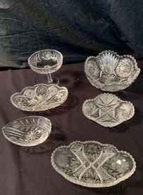 WCT010 - CRYSTAL CANDY DISHES