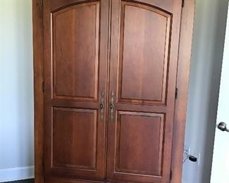 Bassette by Chris Madden Armoire, $475