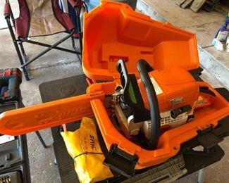 Stihl MS 310 chainsaw.