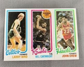 Lot 002 GEM MINT 1980-81 Topps Larry Bird Rookie Card.  https://www.bidrustbelt.com/Event/LotDetails/118855772/GEM-MINT-198081-Topps-Larry-Bird-Rookie-Card