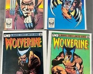 Lot 118 MINT Wolverine #1 - #4 Comic Books.   https://www.bidrustbelt.com/Event/LotDetails/118859763/MINT-Wolverine-1-4-Comic-Books